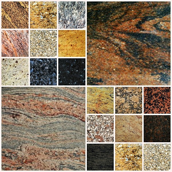 Colores del granito excellent granito kashmir gold with for Colores de granito blanco